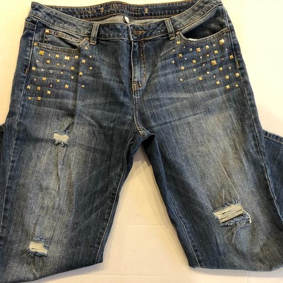 f2323165517 Jennifer Lopez Denim - Jennifer Lopez Boyfriend Jeans